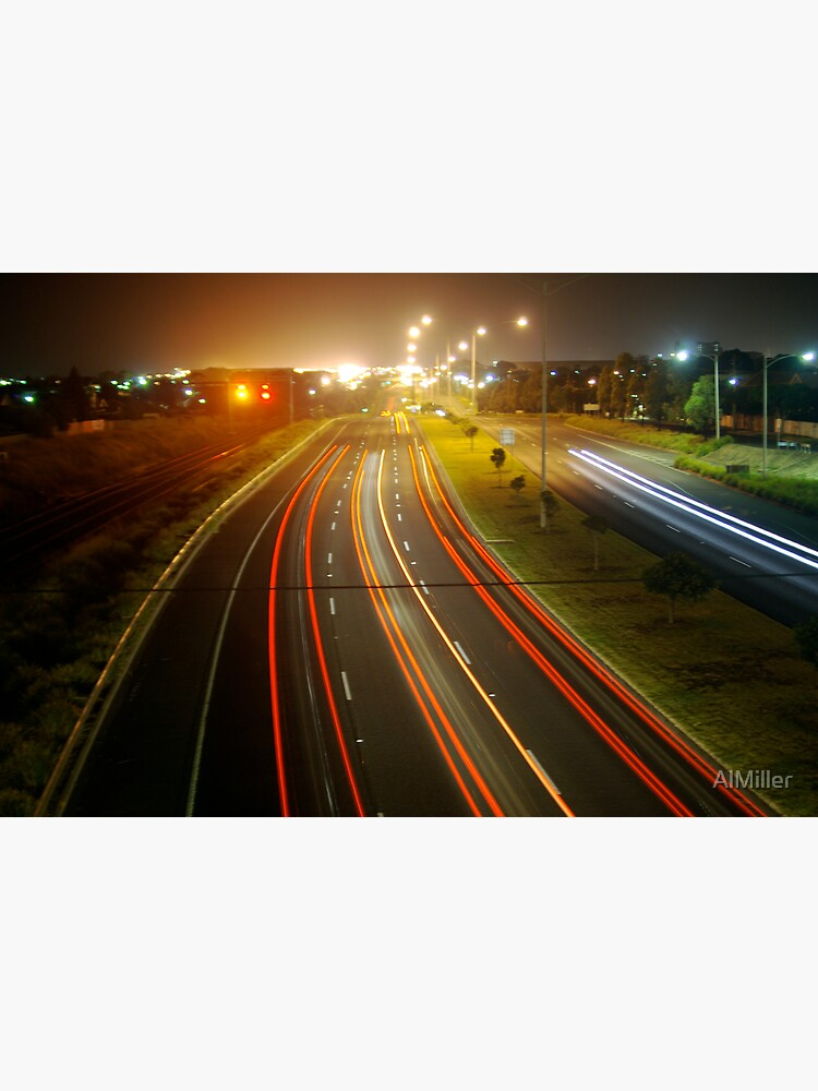 Highway lights by AlMiller