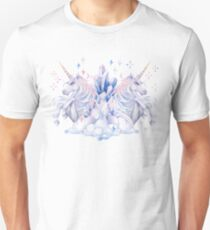 Cute watercolor unicorn Unisex T-Shirt