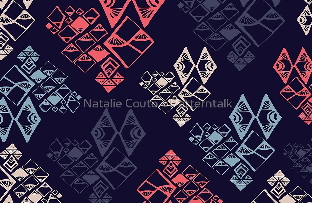 Aztec Diamonds by Natalie Couto
