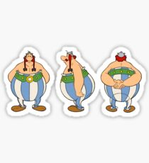Obelix from Asterix  Sticker