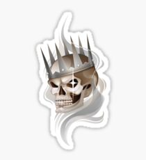 Skull in the crown Sticker