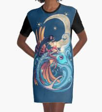 Vestido camiseta Festival del pez volador