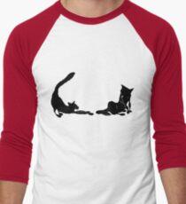 2 long blacks Men's Baseball ¾ T-Shirt