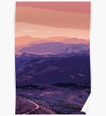 Sunset on other Worlds Poster