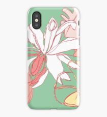Flora III iPhone Case/Skin