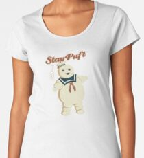 STAY PUFT - MARSHMALLOW MAN GHOSTBUSTERS Women's Premium T-Shirt