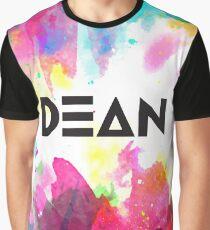 Watercolor Dean Graphic T-Shirt