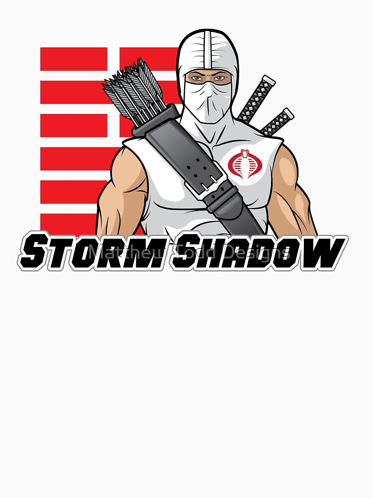 Storm Shadow - Cobras größter Ninja, G.I. Joe 80er Spielzeug von MToddArt