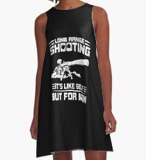 Long Range Shooting A-Line Dress
