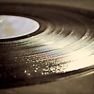 Old vinyl record. by Lyn  Randle