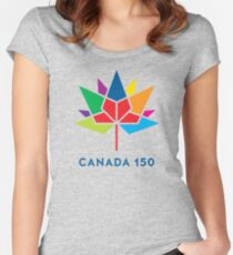 canada 150 Women's Fitted Scoop T-Shirt