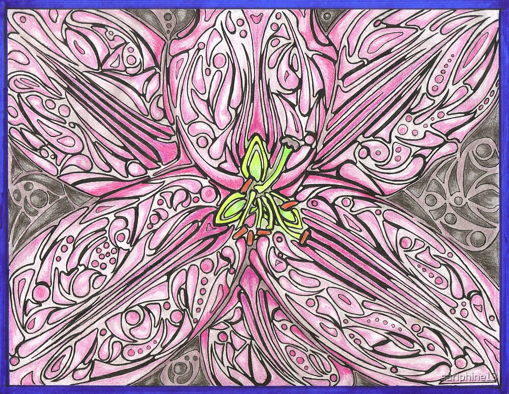 Lilly Explosion by sariphine13