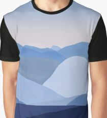 Blue C. Montains Graphic T-Shirt