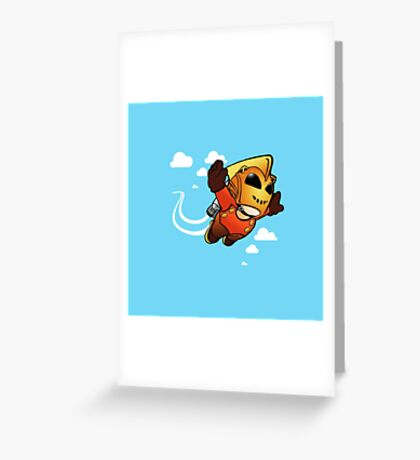 Rocketeerio Greeting Card