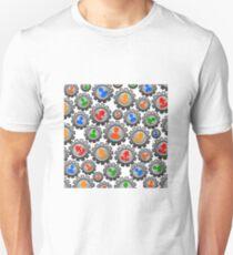teamwork gears man woman Unisex T-Shirt