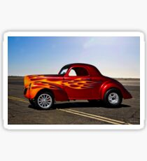 1940 Willys Coupe 'Gasser' I Sticker