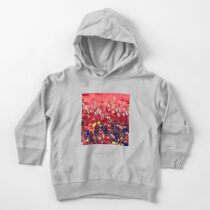 Magical poppy field Toddler Pullover Hoodie