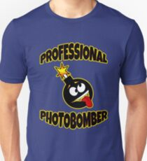 Professional Photobomb Funny Photographers T-Shirt  T-Shirt