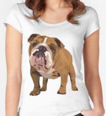 Camiseta entallada de cuello redondo Buldog