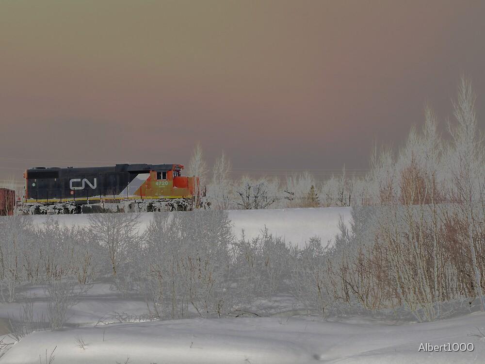 NC frosty train by Albert1000