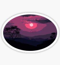 Of skies and magic Sticker