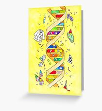 Happy Birthday card for science nerds Greeting Card