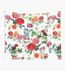 Botanical Pattern Wall Tapestry