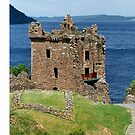 Grant Tower , Urquhart Castle , the Highlands , Scotland by David Rankin