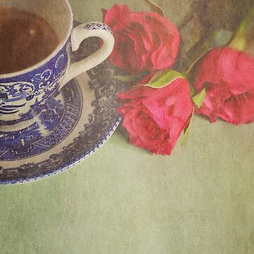 Tea and Roses.  by flossyrandle
