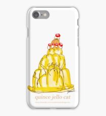 Quince Jello Cat, tony fernandes iPhone Case/Skin