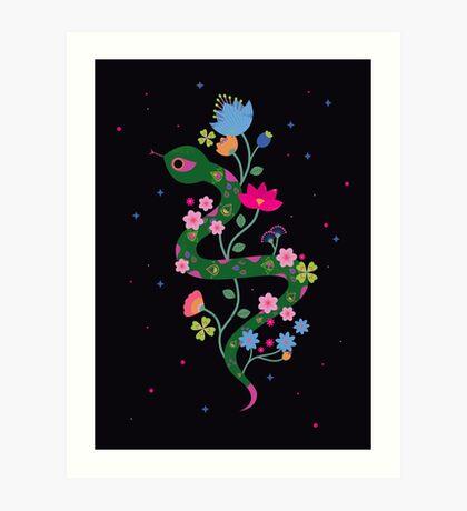 The Serpent  Art Print