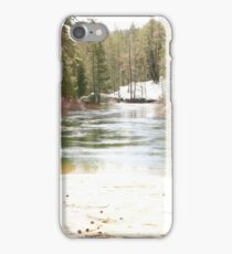 Snow melt  iPhone Case/Skin