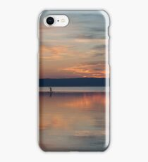 Surfer Rowing To Shore iPhone Case/Skin