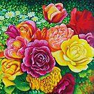 Wedding Bouquet Roses Daisy Flowers by Simon Mark Knott * Simbird *