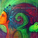 weltenfrauen - cosmic woman von liuquara