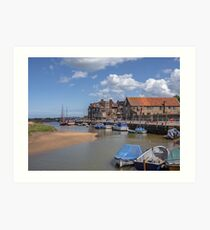 """Blakeney Quay"" Art Print"