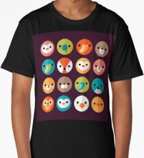 Smiley Faces Long T-Shirt