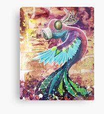 bird insect Metal Print