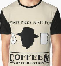 Stranger Things : Coffee & Contemplation Graphic T-Shirt