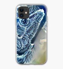 Frozen Lizard iPhone Case