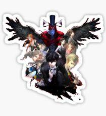 Persona 5 Cover Sticker