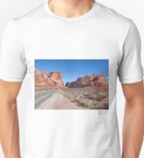 Approach To Arches National Park Unisex T-Shirt