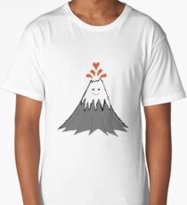 Cute Volcano Long T-Shirt