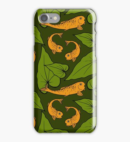 Koi Pond Pattern iPhone Case/Skin