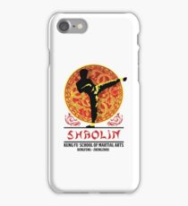 Shaolin Kung Fu School of Martial Arts iPhone Case/Skin