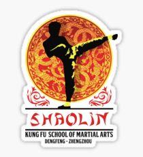 Shaolin Kung Fu School of Martial Arts Sticker