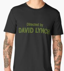 Directed by David Lynch Men's Premium T-Shirt