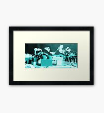 Industrial Landscape Constructed Reality . 3 Framed Print
