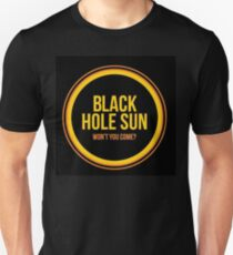 Black Hole Sun Unisex T-Shirt