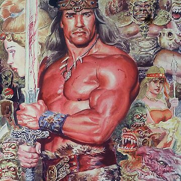 Arnold as Conan The Barberian -Movie by AtulaSiriwardan